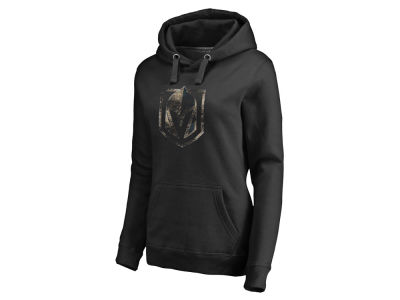 Vegas Golden Knights Majestic NHL Women's Distressed Cozy Hoodie