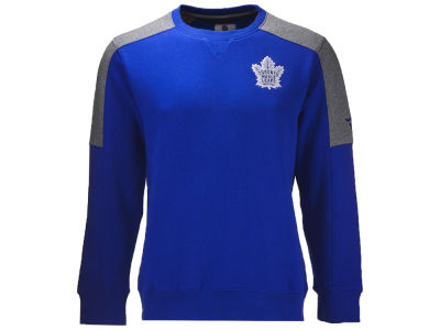 Toronto Maple Leafs NHL Men's Iconic Color Blocked Crew Sweatshirt