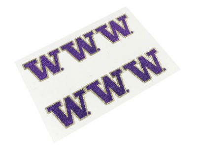 Washington Huskies NCAA Glitter Decals