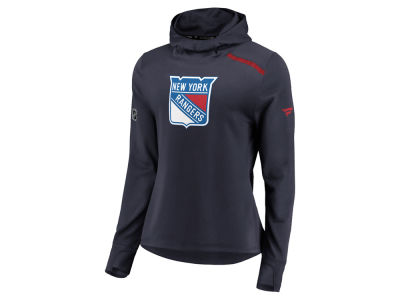 New York Rangers Majestic NHL Women's Authentic Pro Rinkside Hoodie