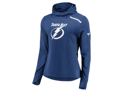Tampa Bay Lightning Majestic NHL Women's Authentic Pro Rinkside Hoodie