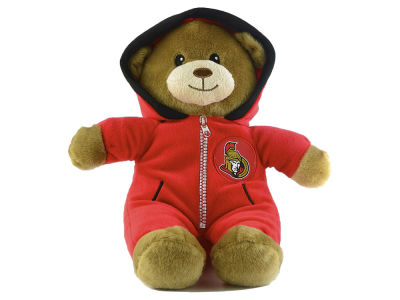 Ottawa Senators Jumpsuit Bear - 8""