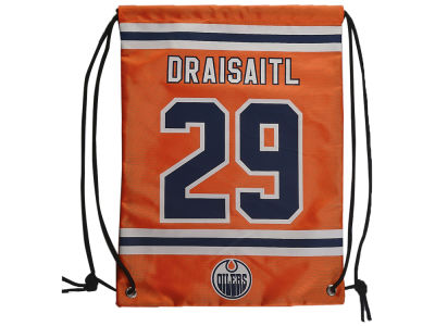 Edmonton Oilers Leon Draisaitl Player Drawstring Bag