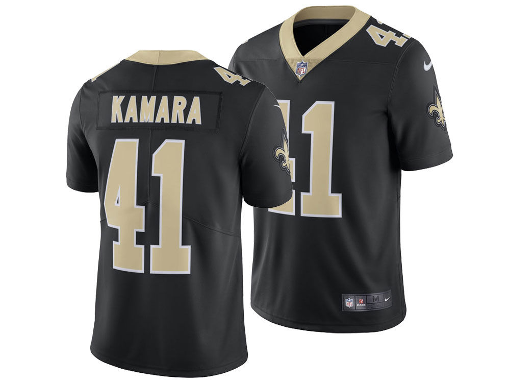 New Orleans Saints Alvin Kamara Nike NFL Men s Vapor Untouchable Limited  Jersey 480ff052e