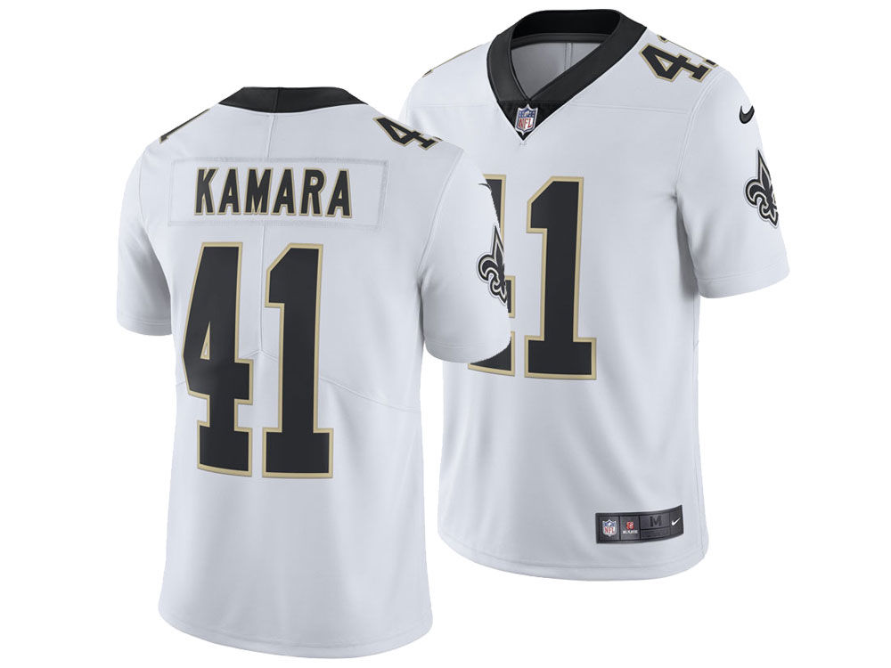 New Orleans Saints Alvin Kamara Nike NFL Men s Vapor Untouchable Limited  Jersey. New Orleans ... f389381c2