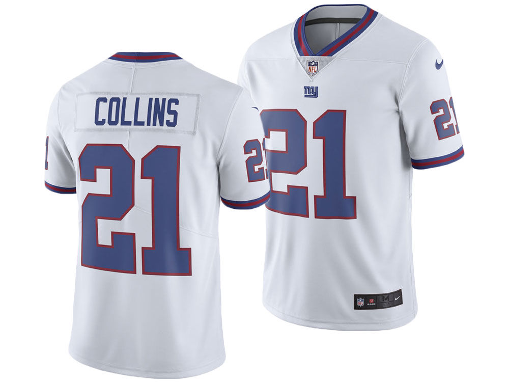 New York Giants Landon Collins Nike NFL Men s Limited Color Rush Jersey  271576931
