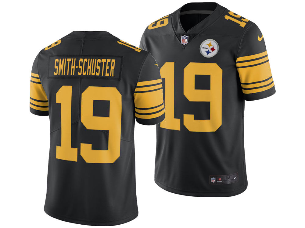 Pittsburgh Steelers Juju Smith-Schuster Nike NFL Men s Limited Color Rush  Jersey  b0a9fccb5