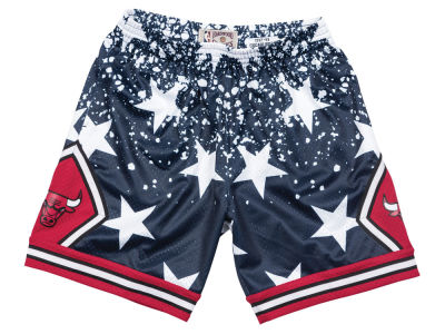 Chicago Bulls Mitchell & Ness NBA Men's The 4th Swingman Shorts