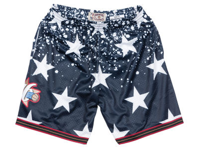 Philadelphia 76ers Mitchell & Ness NBA Men's The 4th Swingman Shorts