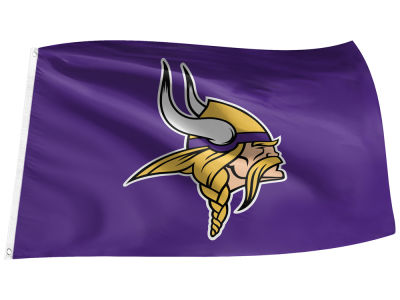 Minnesota Vikings Flag - 3' X 5'