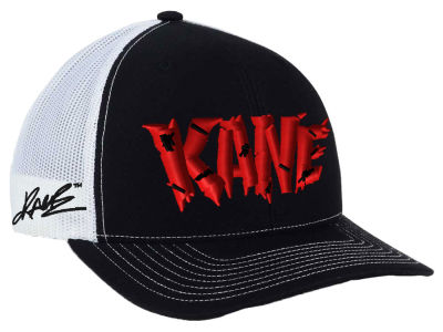 Kane WWE Custom Trucker Cap