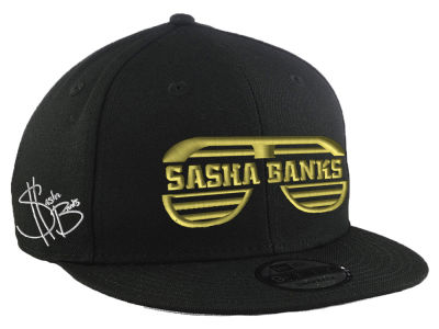 Sasha Banks WWE WWE Custom 9FIFTY Snapback Cap