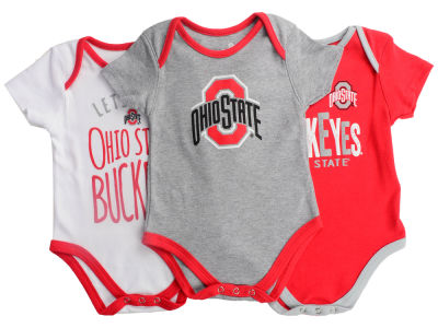 Ohio State Buckeyes Outerstuff NCAA Infant Lil Tailgater 3 Piece Set