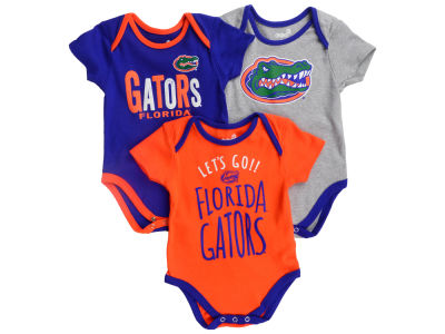 Florida Gators Outerstuff NCAA Newborn Lil Tailgater 3 Piece Set