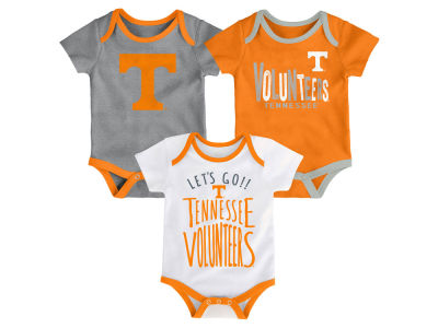 Tennessee Volunteers Outerstuff NCAA Newborn Lil Tailgater 3 Piece Set