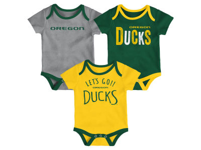 Oregon Ducks Outerstuff NCAA Newborn Lil Tailgater 3 Piece Set