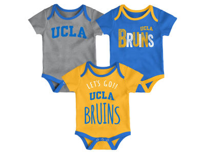 UCLA Bruins Outerstuff NCAA Newborn Lil Tailgater 3 Piece Set