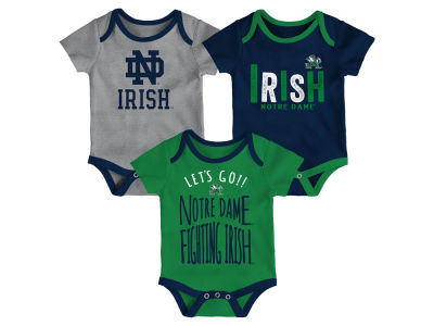 Notre Dame Fighting Irish Outerstuff NCAA Newborn Lil Tailgater 3 Piece Set