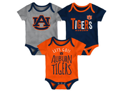 Auburn Tigers Outerstuff NCAA Newborn Lil Tailgater 3 Piece Set