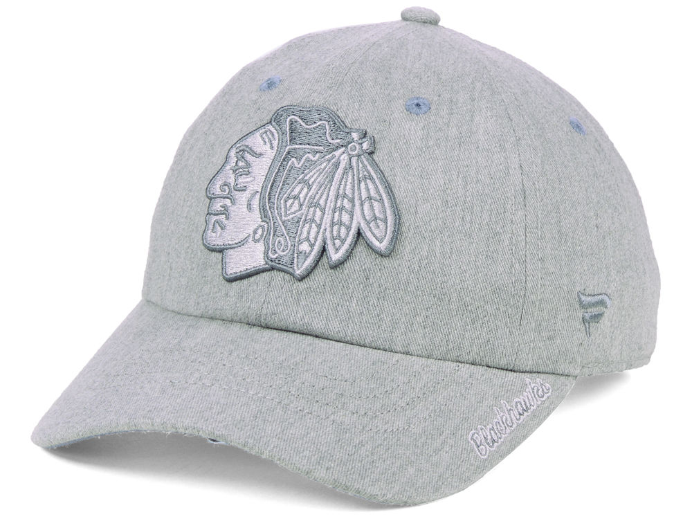 Chicago Blackhawks NHL NHL Women s Lux Fundamental Adjustable Cap ... 35d4d686a9