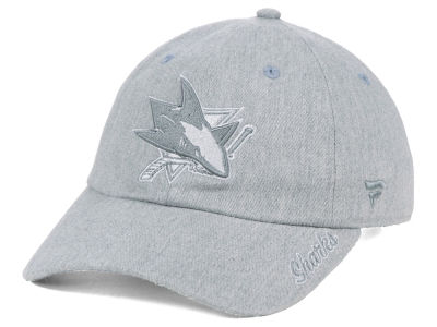 San Jose Sharks NHL Women's Lux Fundamental Adjustable Cap