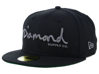 Diamond OG Script 59FIFTY Cap