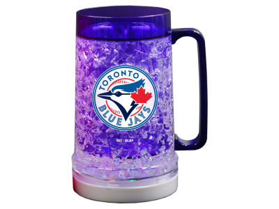 Toronto Blue Jays Chambre forte de sports 18oz Light Up Freezer Mug