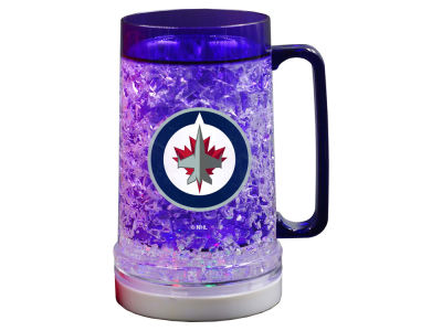 Winnipeg Jets Sports Vault 18oz Light Up Freezer Mug