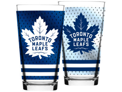 Toronto Maple Leafs Jersey Mixing Pint Glass - 16oz