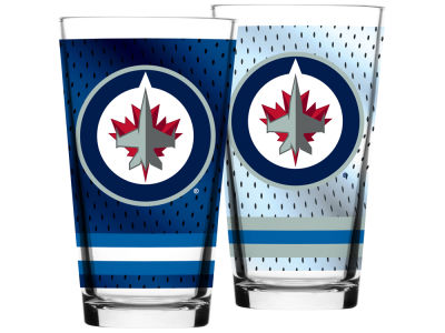 Winnipeg Jets Jersey Mixing Pint Glass - 16oz