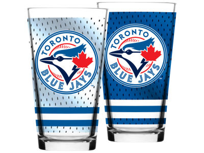 Toronto Blue Jays Jersey Mixing Pint Glass - 16oz