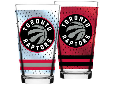 Toronto Raptors Jersey Mixing Pint Glass - 16oz