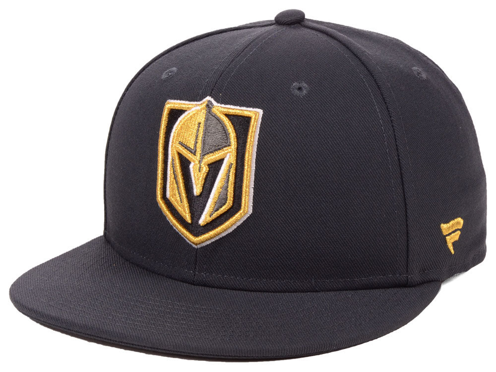 Vegas Golden Knights NHL NHL Basic Fan Fitted Cap  82e23007f52