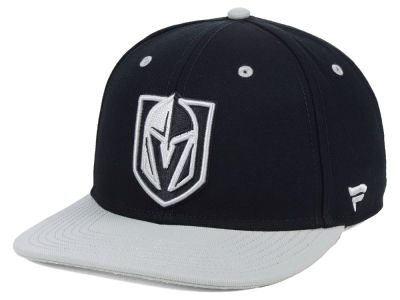 Vegas Golden Knights NHL Blackout Emblem Snapback Cap