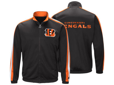 Cincinnati Bengals Starter NFL Men's The Challenger Track Jacket