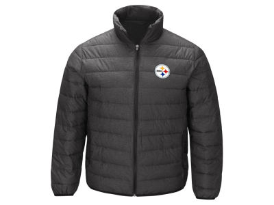 Pittsburgh Steelers G-III Sports NFL Men's Playoff Quilted Polyfill Jacket