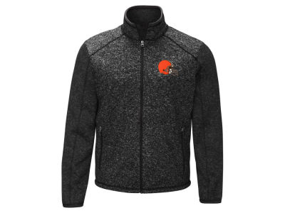 Cleveland Browns G-III Sports NFL Men's Alpine Zone Sweater Fleece Jacket