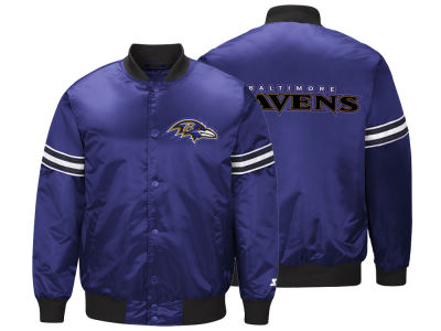 Baltimore Ravens Starter NFL Men's Draft Pick Starter Satin Jacket
