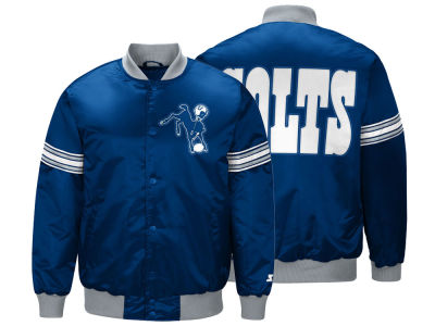 GIII NFL Men's Draft Pick Starter Satin Jacket