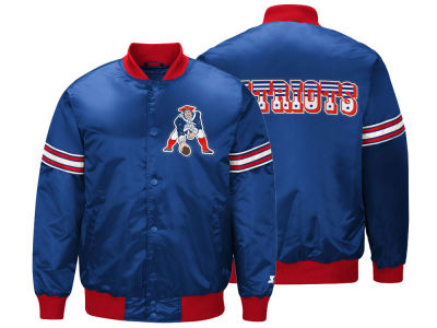 New England Patriots Starter NFL Men's Draft Pick Starter Satin Jacket