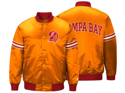Tampa Bay Buccaneers Starter NFL Men's Draft Pick Starter Satin Jacket