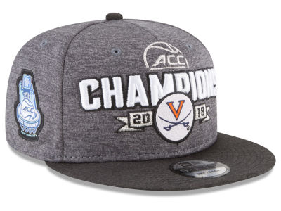 Virginia Cavaliers New Era NCAA 2018 ACC Tourney Champs Cap