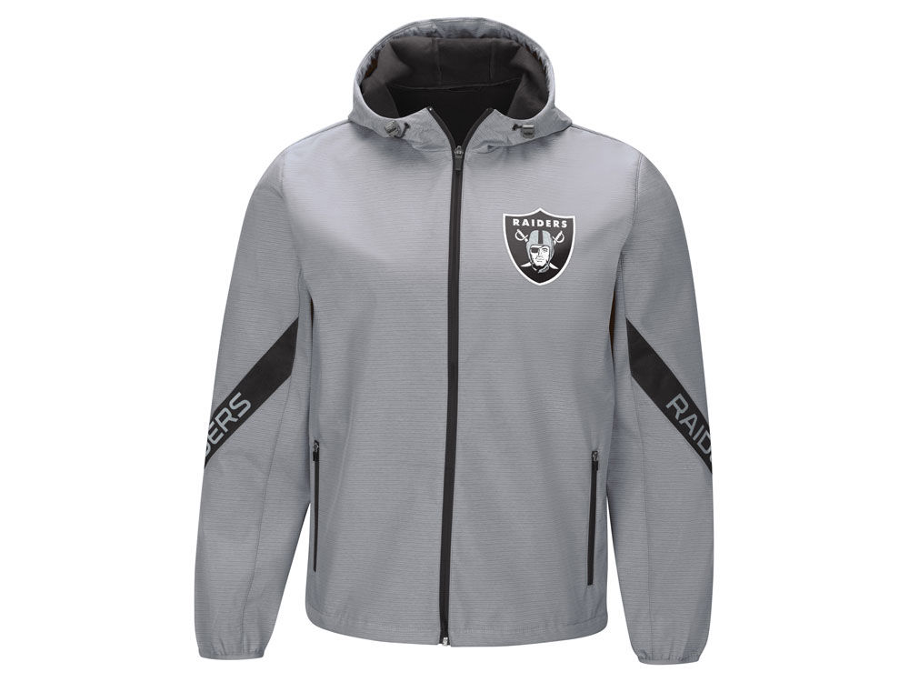 40fa18831 Oakland Raiders G-III Sports NFL Men s Crossover Soft Shell Jacket ...