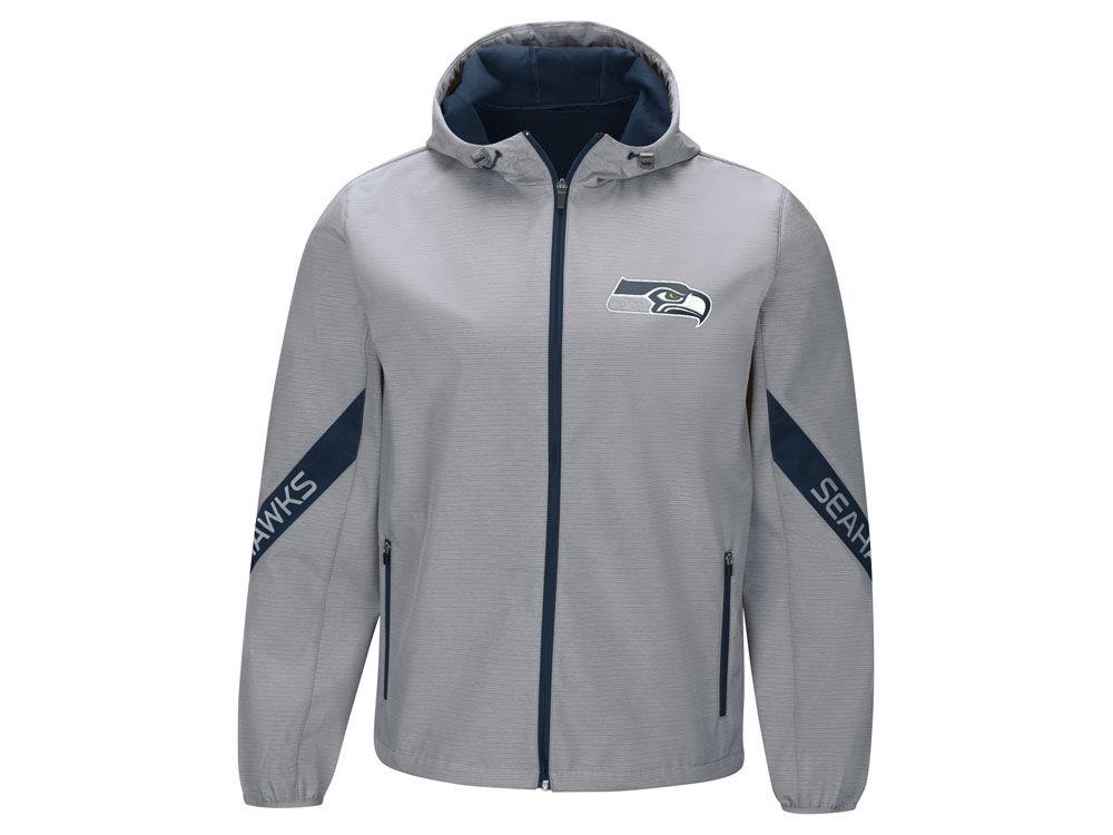 Seattle Seahawks G-III Sports NFL Men s Crossover Soft Shell Jacket ... 4757d85ed