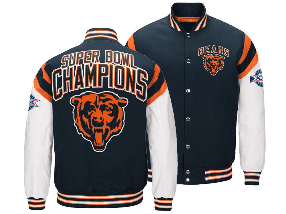 Chicago Bears G-III Sports NFL Men s Home Team Varsity Jacket  e0750ff7e
