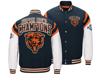Chicago Bears G-III Sports NFL Men's Home Team Varsity Jacket