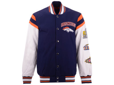 Denver Broncos G-III Sports NFL Men's Home Team Varsity Jacket