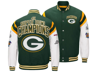 Green Bay Packers G-III Sports NFL Men's Home Team Varsity Jacket
