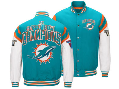Miami Dolphins G-III Sports NFL Men's Home Team Varsity Jacket