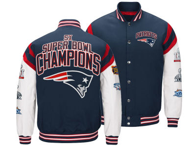 New England Patriots G-III Sports NFL Men's Home Team Varsity Jacket